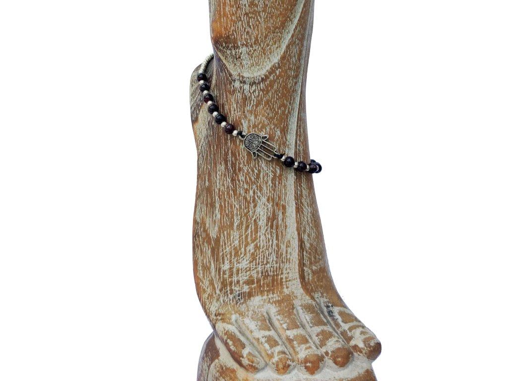 Kotníkový náramek ruka Fatimy