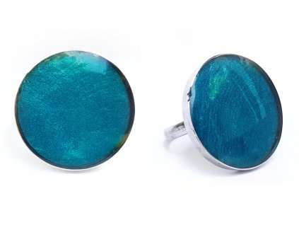Prsten kruh modrý