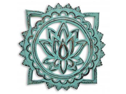 Lotosový květ nastenna dekorace