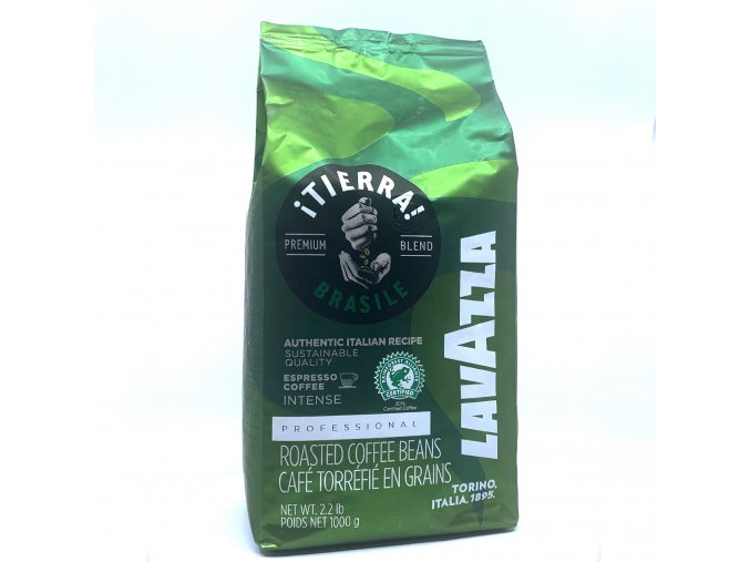 Lavazza Tierra Brazil Green zrnková káva 1 kg