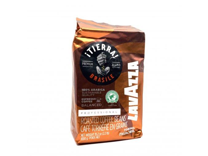 Lavazza Tierra Brazil 100% Arabika zrnková káva 1 kg