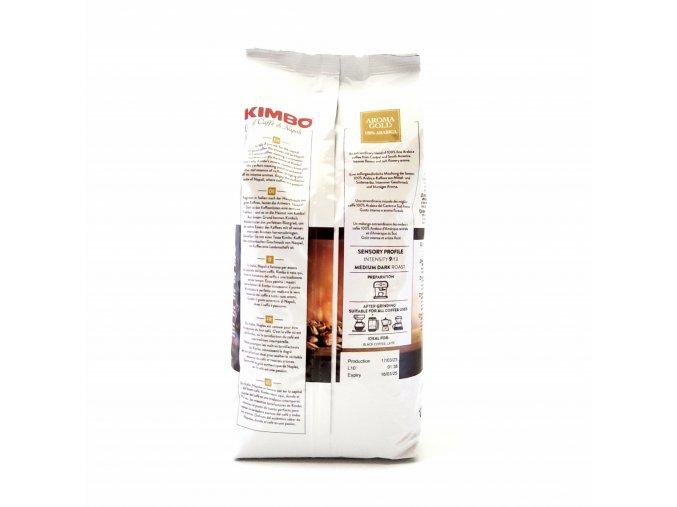 155 kimbo aroma gold zrnkova kava 1 kg