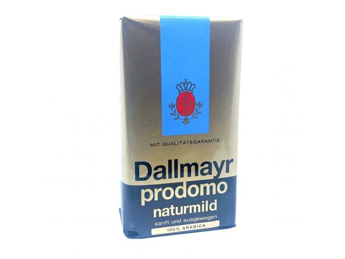 Dallmayr Prodomo natur mild mletá káva 500 g