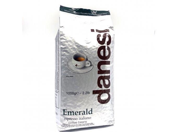 Danesi Espresso Emerald zrnková káva 1kg