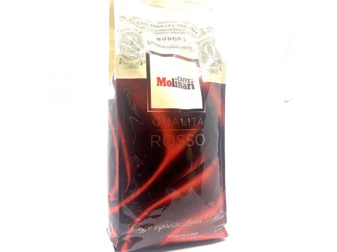 Molinari Qualita Rosso, Linea Bar, zrnková káva 1 kg