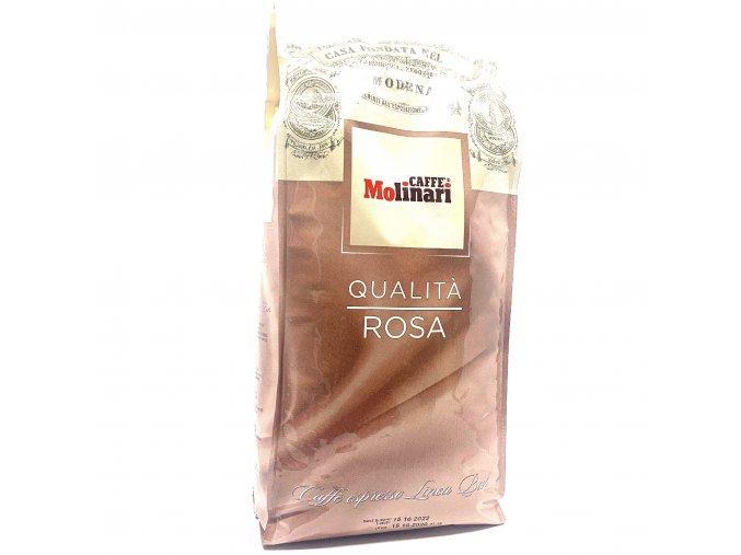 Molinari Qualita Rosa zrnková káva 1 kg