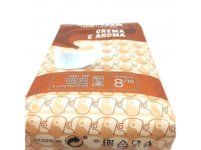 68 lavazza caffe crema e aroma zrnkova 1 kg