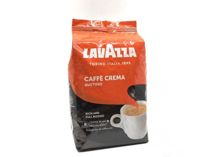 204 lavazza caffe crema gustoso zrnkova kava 1 kg