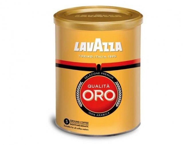 kava lavazza qualita oro mleta 250g v doze