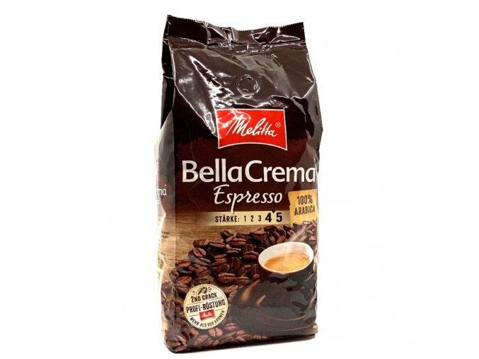 543 melitta bellacrema espresso zrnkova kava 1 kg