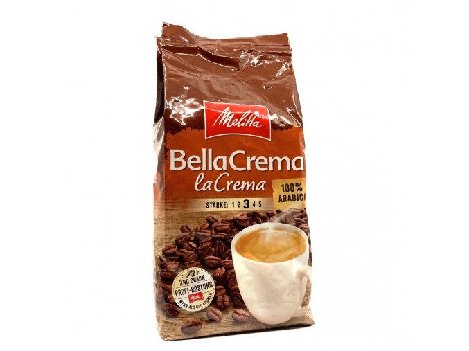 546 melitta bellacrema lacrema zrnkova kava 1 kg
