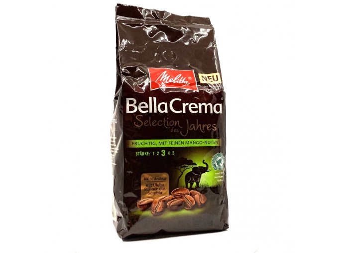 549 melitta bellacrema selection des jahres zrnkova kava 1 kg