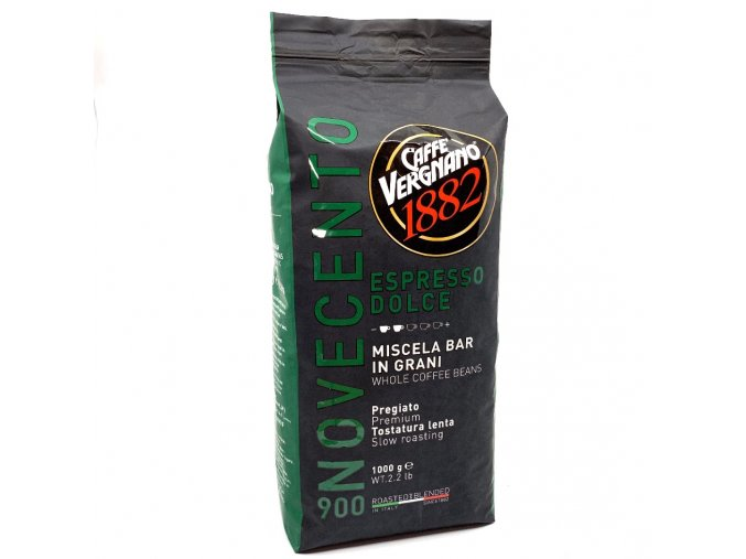 339 vergnano espresso dolce 900 zrnkova kava 1 kg