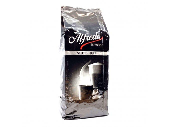 Alfredo Espresso Super Bar zrnková káva 1 kg