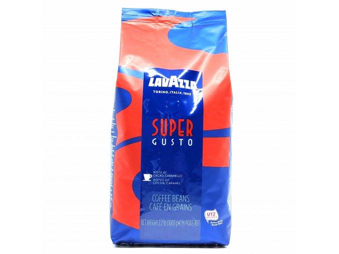 Lavazza Super Gusto zrnková káva 1 kg