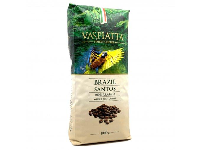 Vaspiatta Brazil Santos zrnková káva 1kg