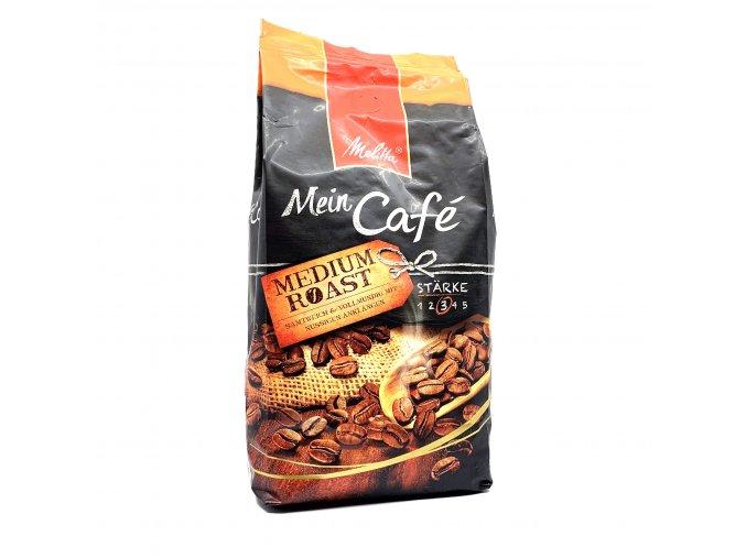 935 melitta mein cafe medium roast zrnkova kava 1 kg