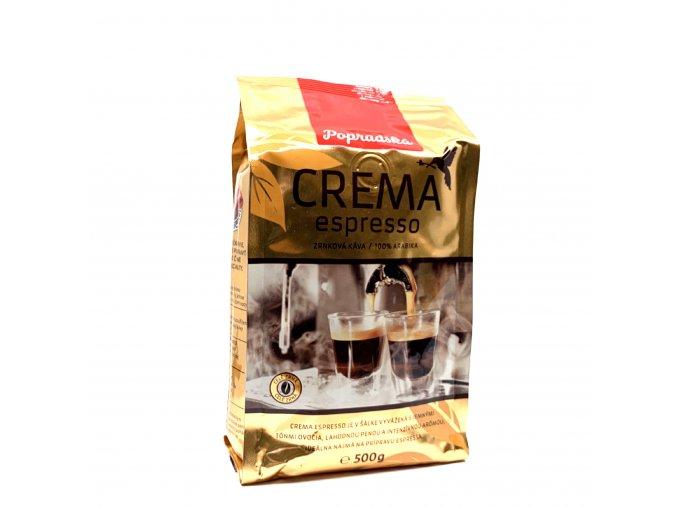Popradská zrnková káva Crema Espresso 500 g