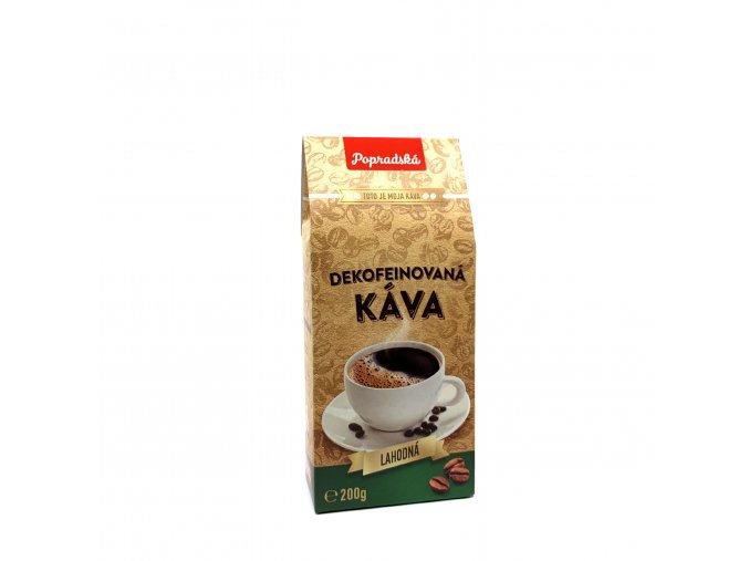 Popradská mletá káva Bezkofeinová 200 g