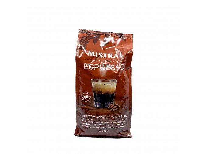 Mistral Selection Zrnková káva Fine Espresso 500 g