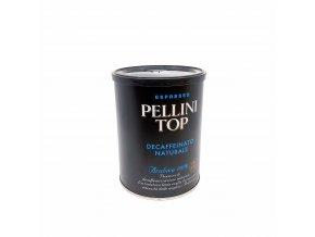 Pellini Top Bezkofeinová, 250g  mletá dóza