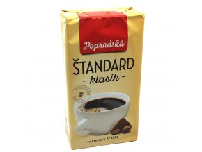 176 popradska standard klasik mleta kava 250 g