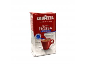Lavazza Qualita Rossa Decaffeinato mletá káva 250 g