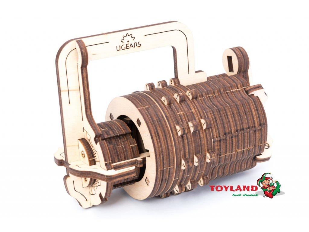 Ugears Combination Lock 0222