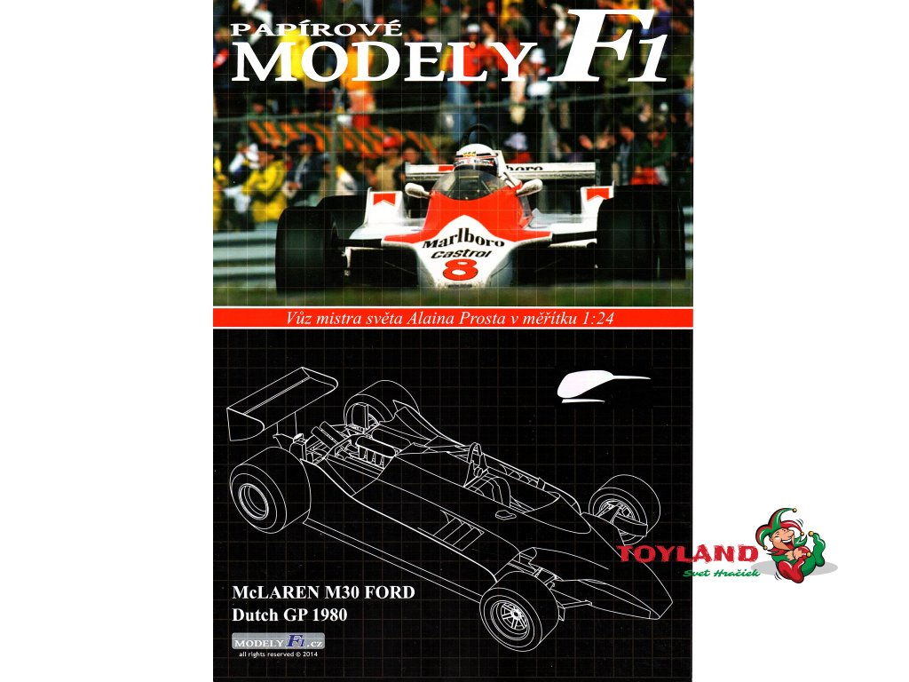 McLAREN M30 FORD - Dutch GP 1980