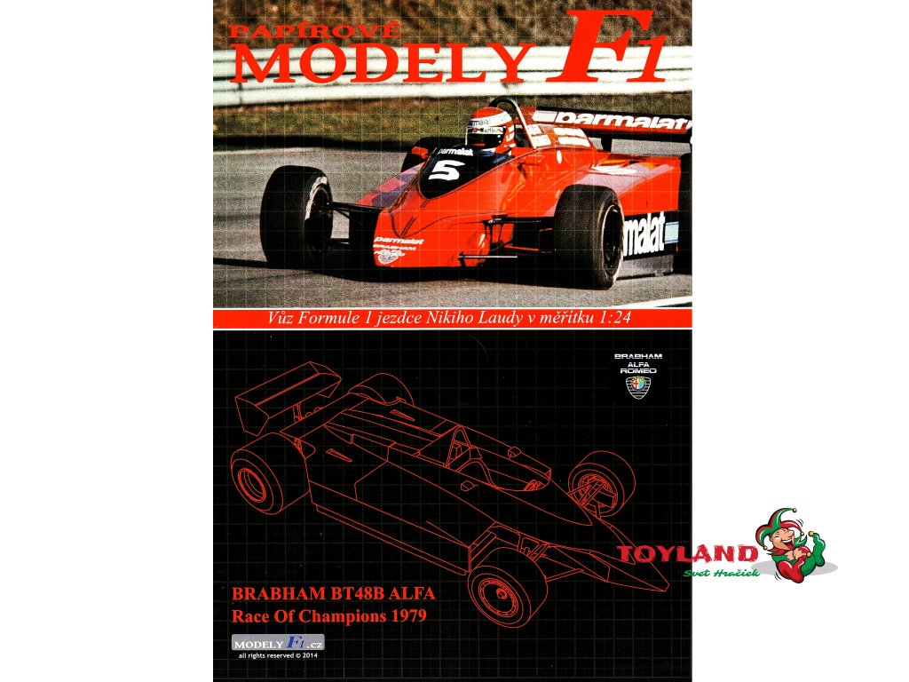 BRABHAM BT48B ALFA - Race of Champions 1979