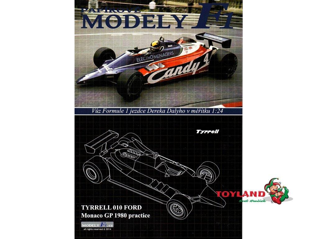 TYRRELL 010 - Monaco GP 1980