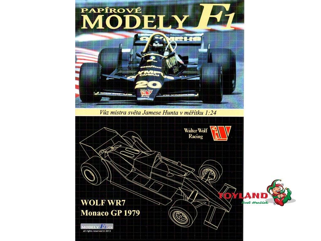WOLF WR7 - Monaco GP 1979