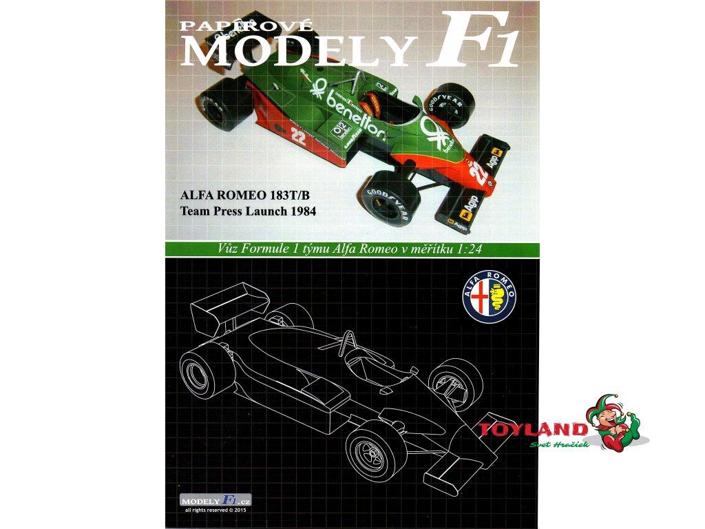 ALFA ROMEO 183T/B - Team Press Launch 1984