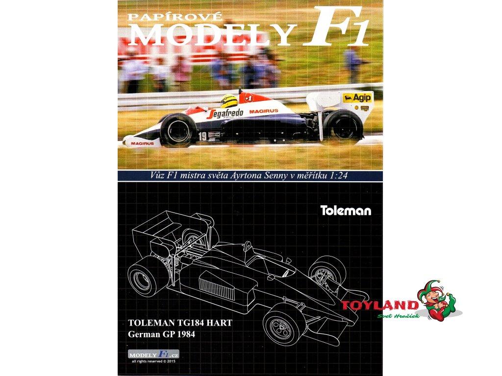 TOLEMAN TG184 HART - German GP 1984
