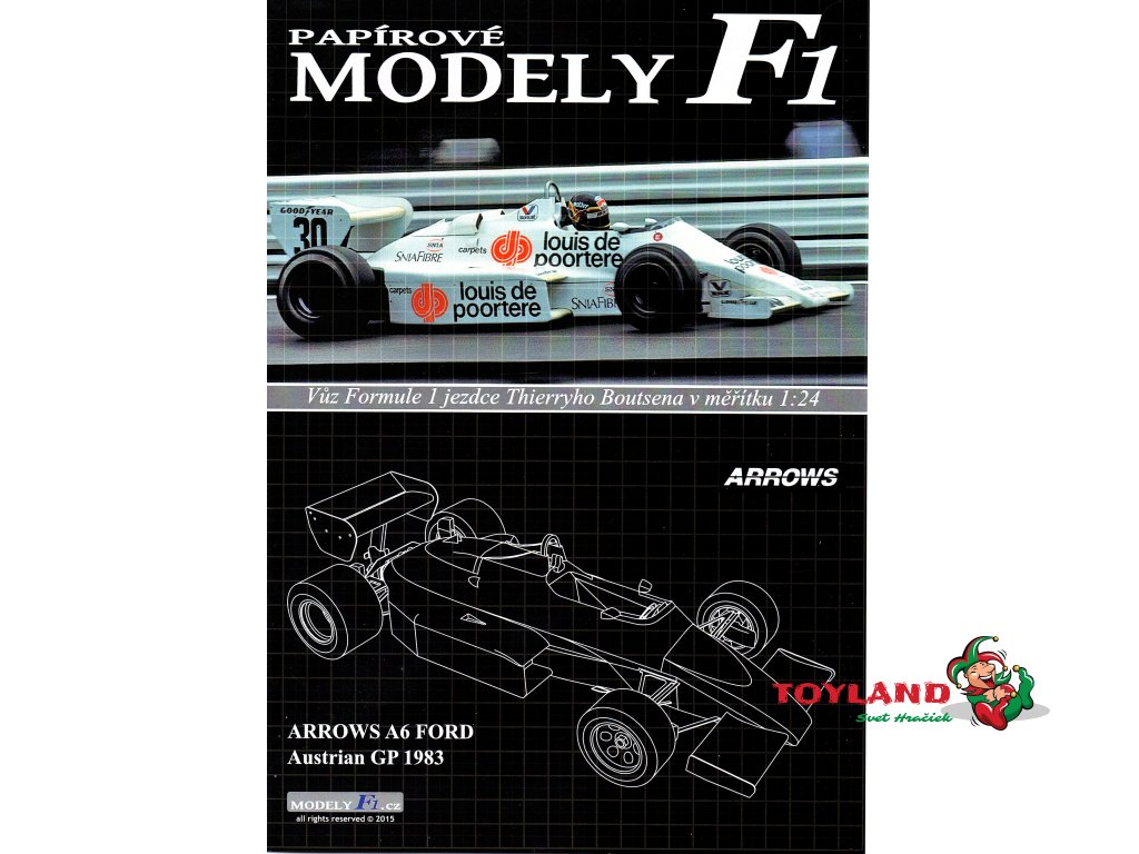 ARROWA A6 FORD - Austrian GP 1983