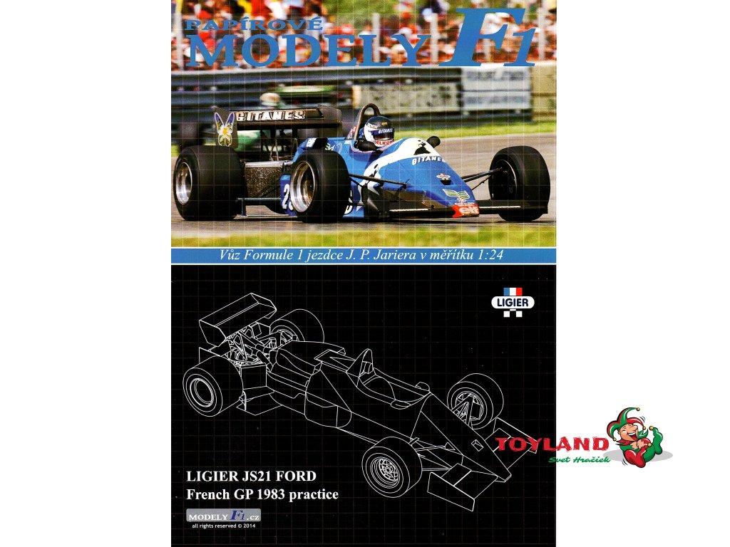 LIGIER JS21 FORD - French GP 1983