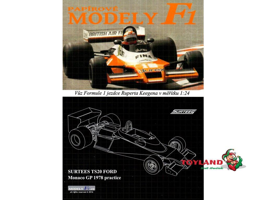 SURTEES TS20 FORD - Monaco GP 1978
