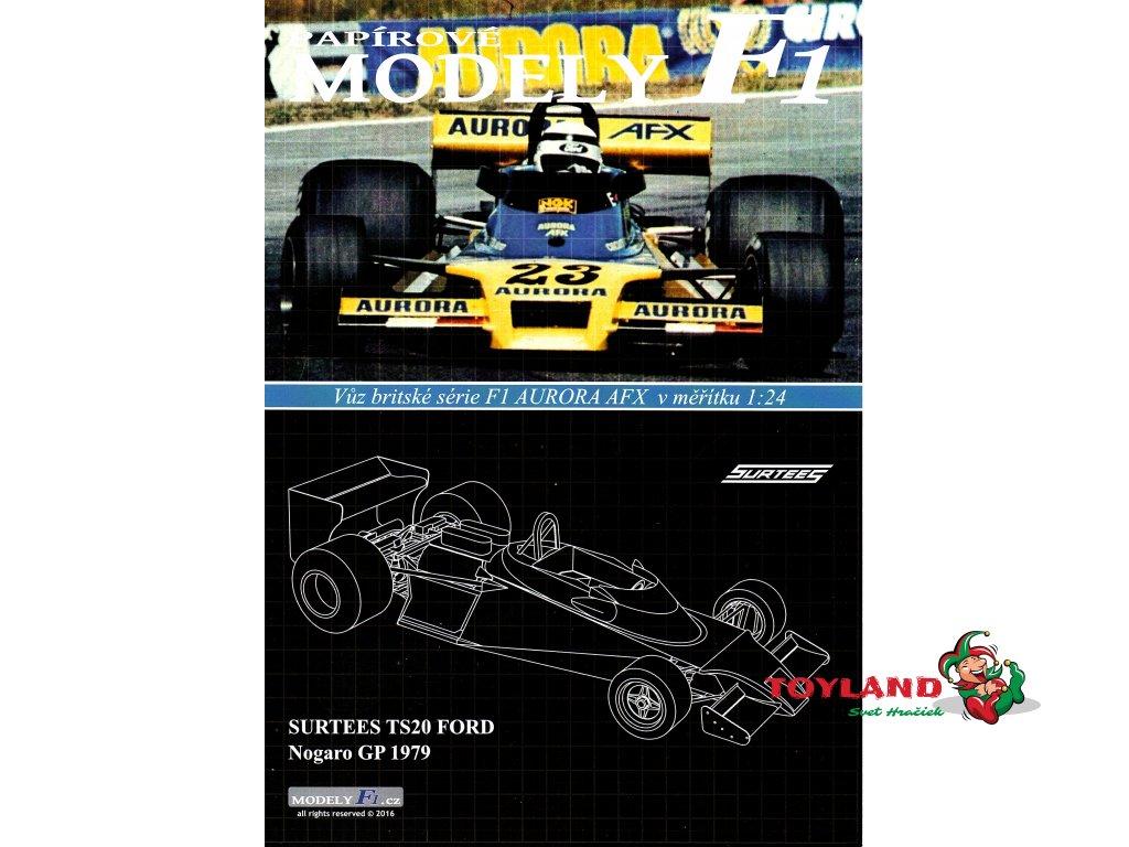 SURTEES TS20 FORD - Nogaro GP 1979