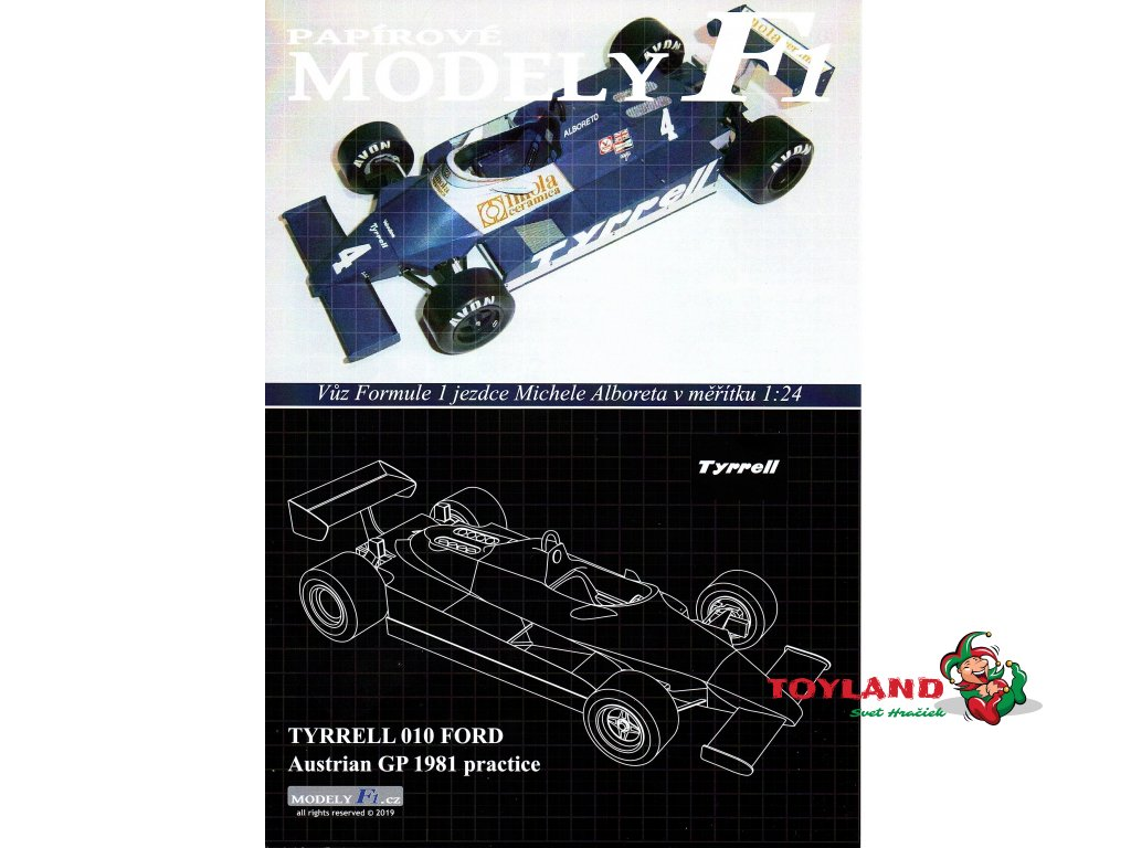 TYRRELL 010 FORD - Austrian GP 1981
