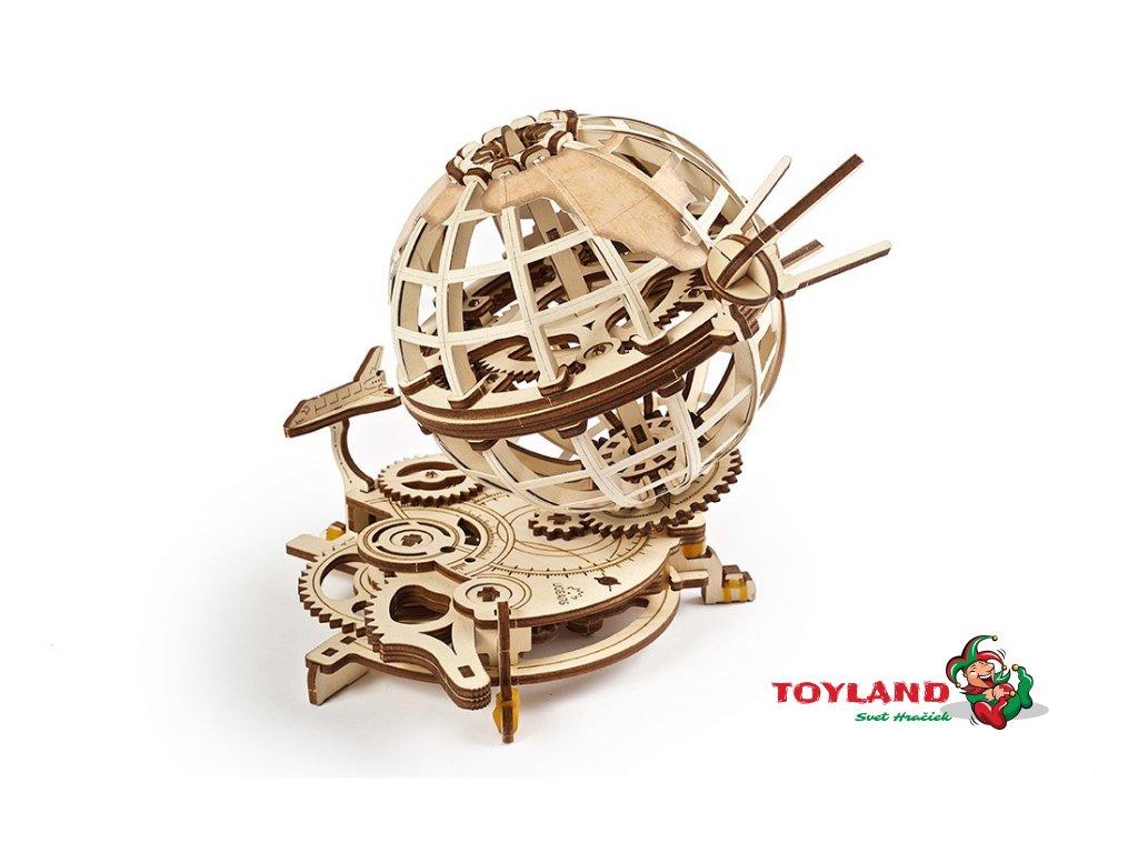 UGEARS mechanical model Globus 1 max 1100