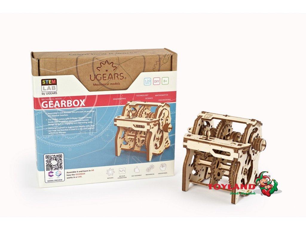 Gearbox Ugears STEM lab model 22 max 1100