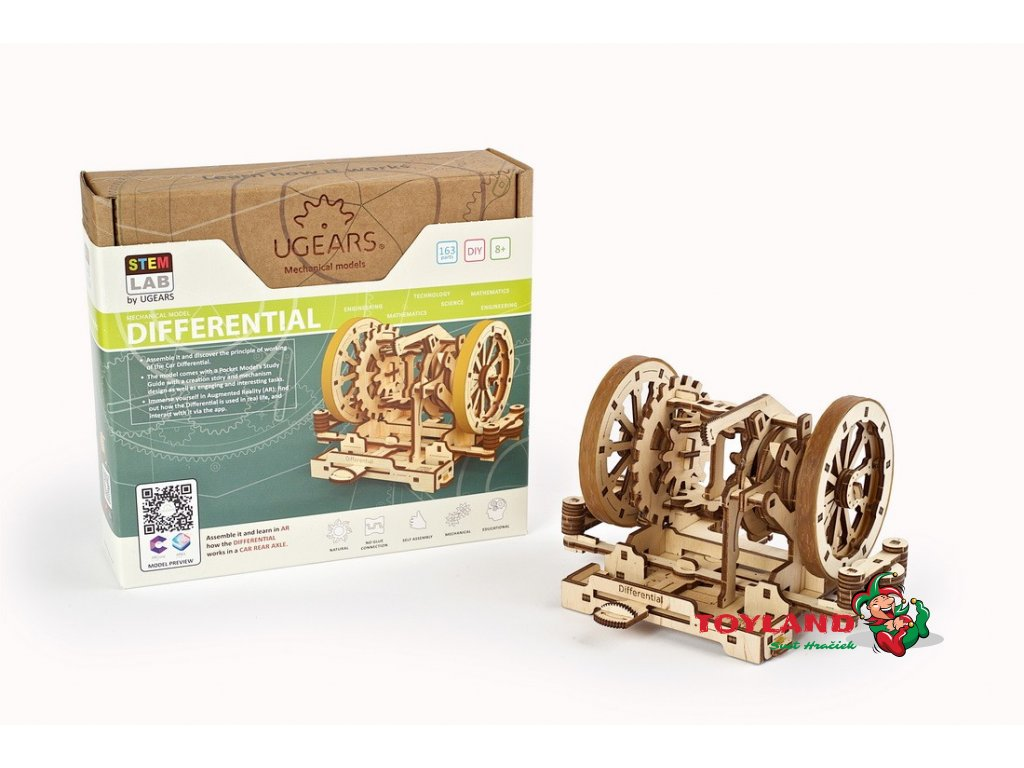 Differential Ugears STEM lab model 14 max 1100