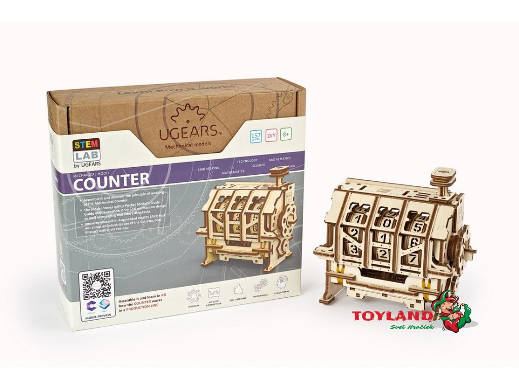 Counter Ugears STEM lab model 25 max 1100