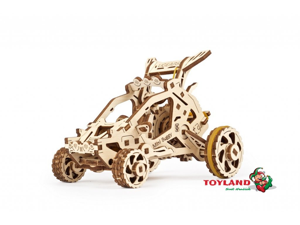 ugears mechanical model mini buggy 02 max 1100