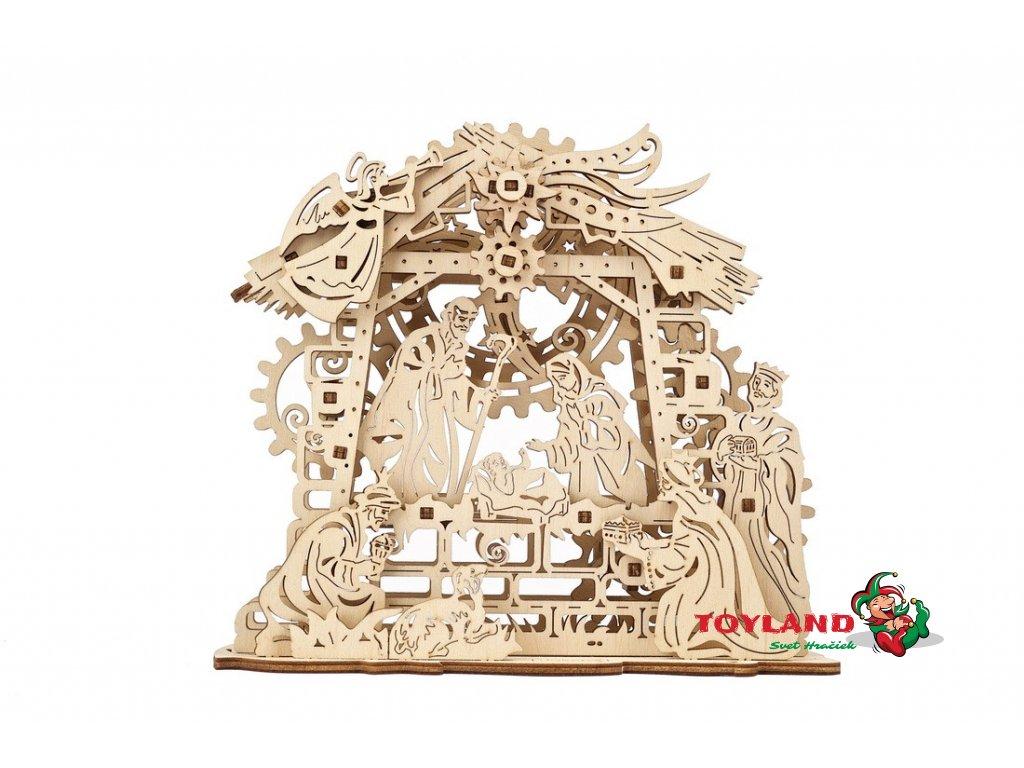ugears mechanical model nativity scene 01 max 1100