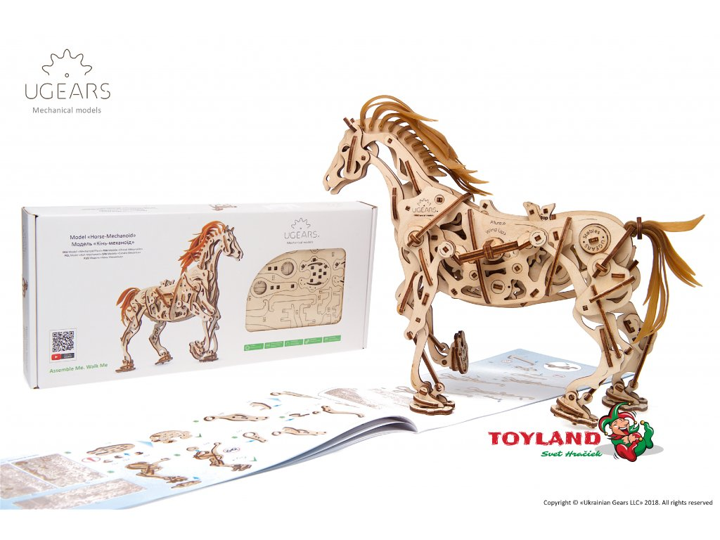 Ugears Horse Mechanoid Model Kit 4