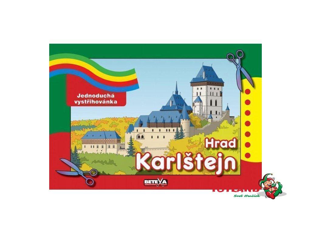 Hrad Karlštejn - jednoduchý