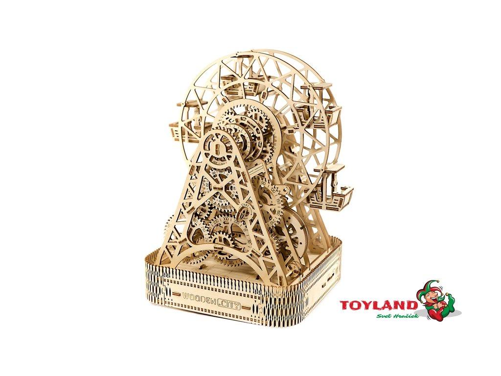wooden city 摩天輪 w city ferris wheel