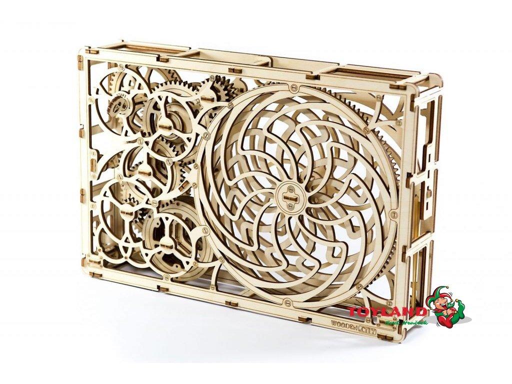 wooden city 3d mechanicke puzzle kineticky obraz2