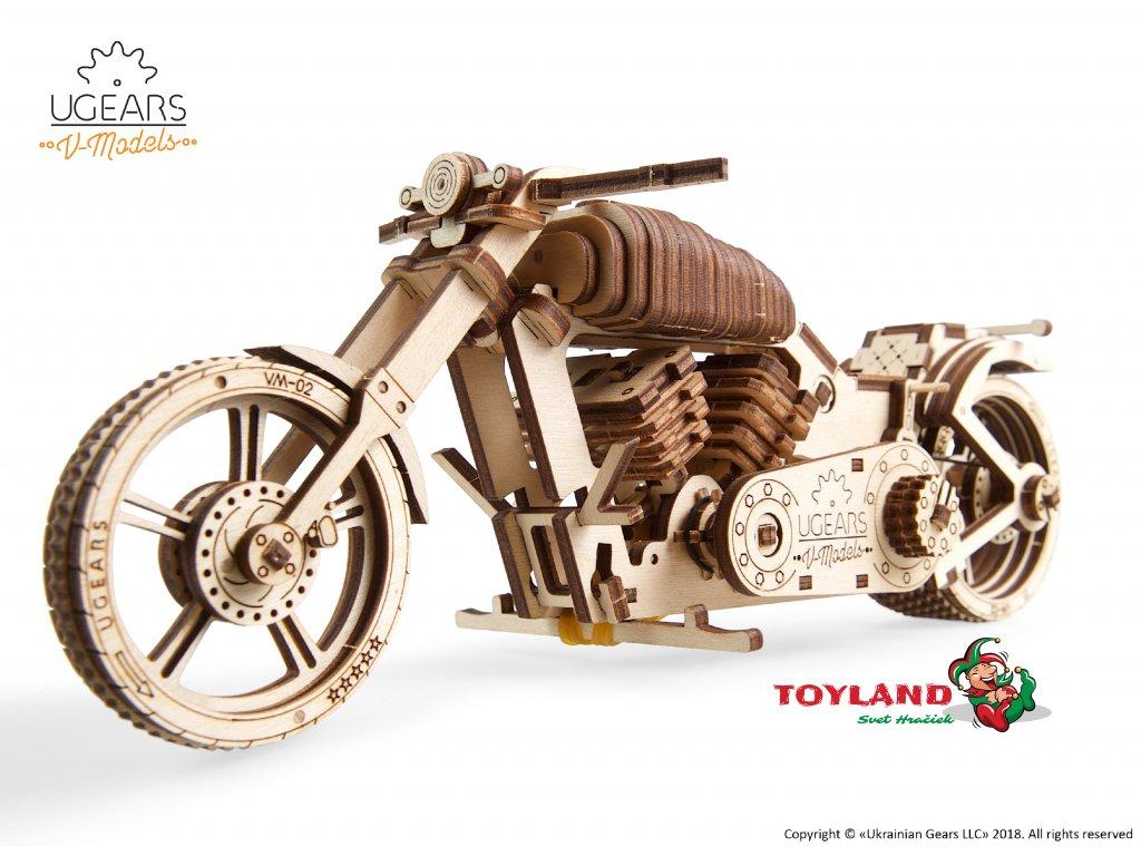 01 Ugears Bike VM 02 Model Kit DSC9974